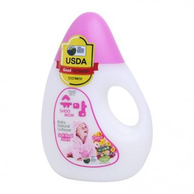 Nước xả hữu cơ SHOOMOM hương hoa 1.3L