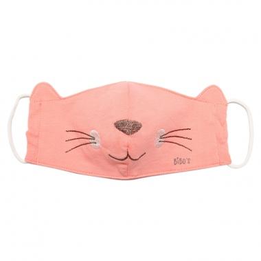 Khẩu trang Bibo's bé gái mèo hồng