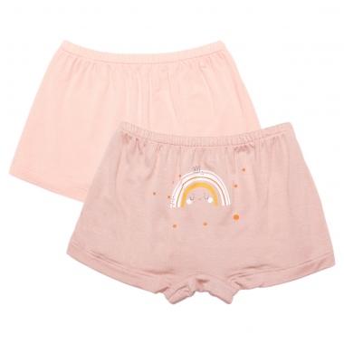 Set 2 quần chíp Chong Chóng hồng kem