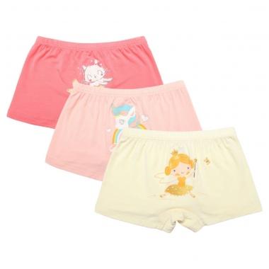 Set 3 quần đùi chip Bibo's bé gái