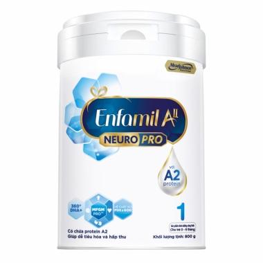 Sữa Enfamil A2 NeuroPro số 1 800gr (0-6 tháng)
