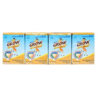 Sữa dinh dưỡng pha sẵn Abbott Grow Gold vani 110ml (1 hộp)