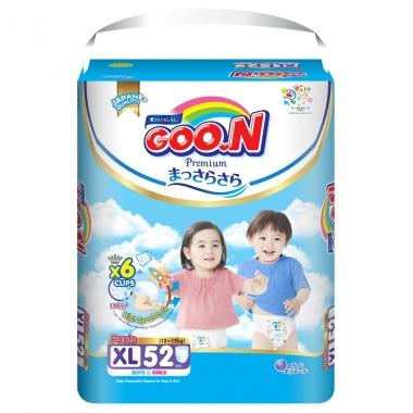 Bỉm - Tã quần Goon Premium size XL - 52 miếng (Cho bé 12 - 17kg)